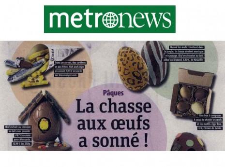 Metro News Avril 2015