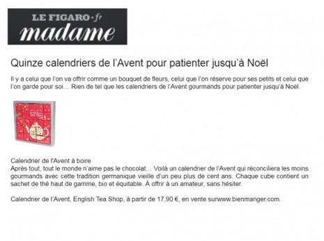 Figaro Madame - Décembre 2015