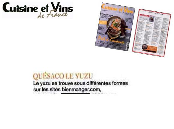Cuisine et vins de france novembre 2016 for Cuisine et vins de france